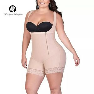 Women Compression Full Body Shaper Tight Strappy U